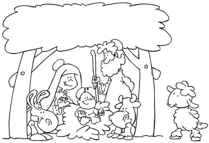 Dibujos Nacimiento de Jess  Compartiendo por amor