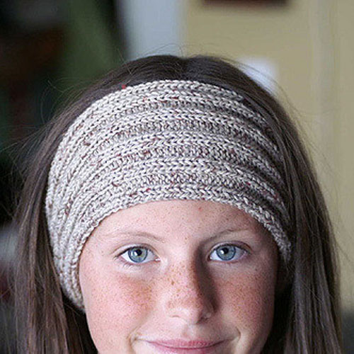 Tweedy Headband - Free Pattern