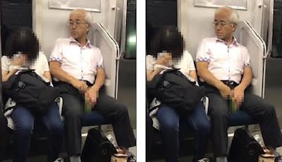 Kelakuan Pria Tua di Kereta Api Ini Bikin Warganet Emosi