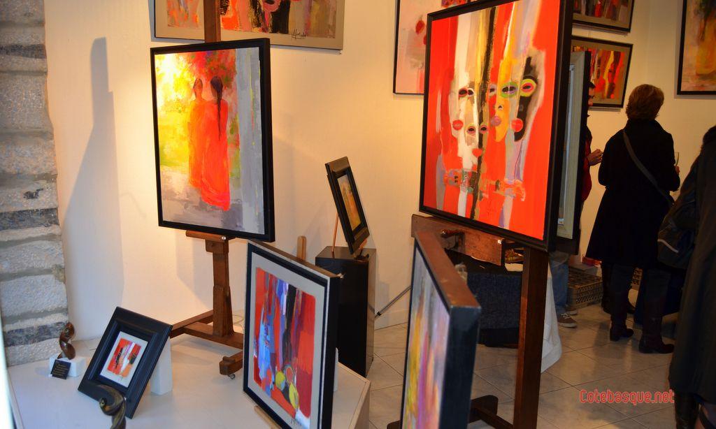galerie page biarritz po sie de couleurs la galerie page de biarritz. Black Bedroom Furniture Sets. Home Design Ideas