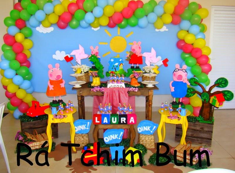 Rá Tchim Bum: Peppa Pig Da Laura