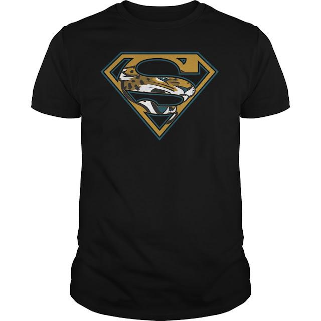 Jacksonville Jaguars Superman Logo Shirt