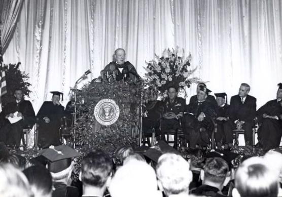 Grantian Florilegium The Iron Curtain Speech