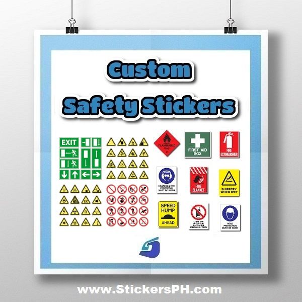 Safety Stickers, Warning Labels & Decals