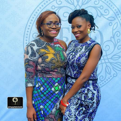 Funke and her sister Tosyn Bucknor
