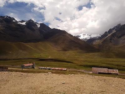 Paisaje en bus de Puno a Cuzco