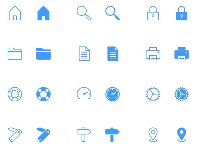 40 free tab bar icons for iphone and ipad psd psdblast