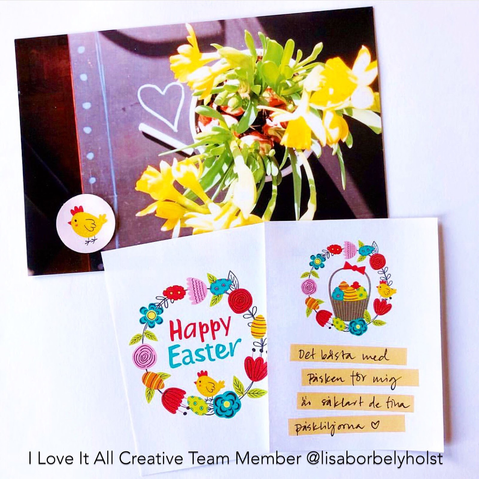 #free Easter card #instant download #printable #Happy Easter #card #free printable