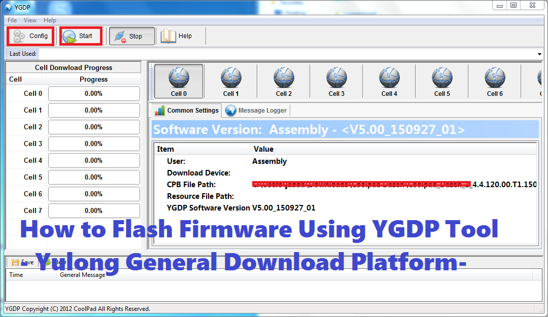 How to Flash Firmware Using YGDP Tool - Yulong General