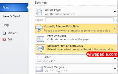 Cara Print Dokumen Bolak Balik yang Benar   WiwaPedia