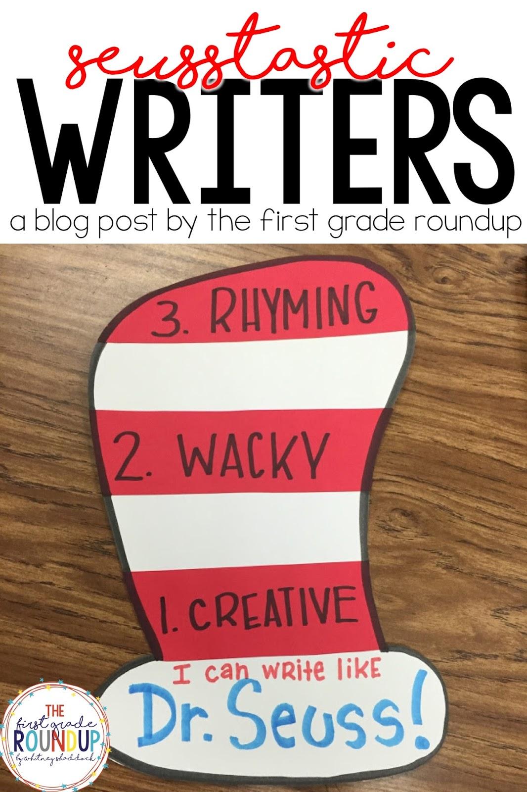 Write Like Dr. Seuss! - Firstgraderoundup