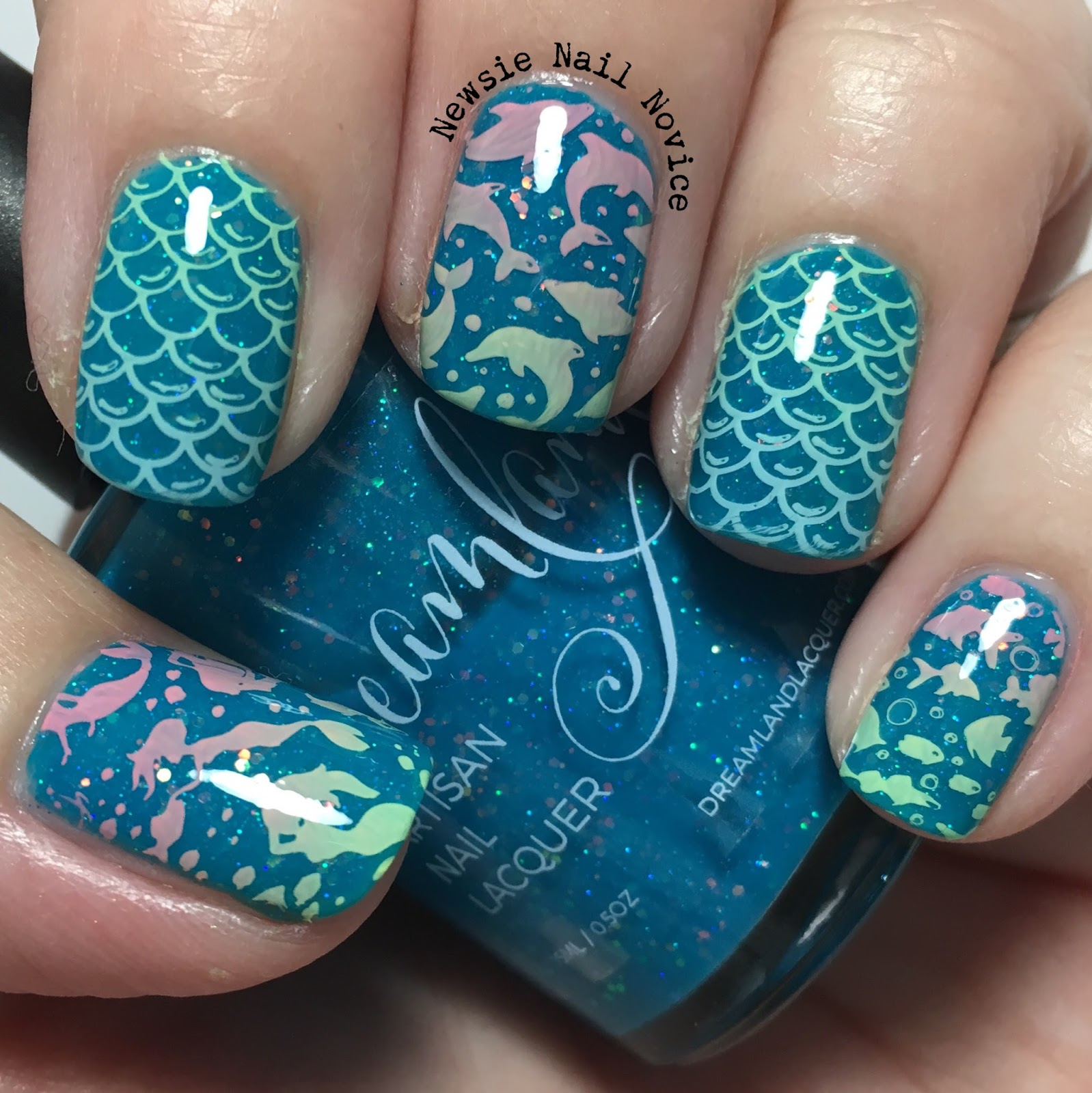 Under the Sea Nail Art | Newsie Nail Novice