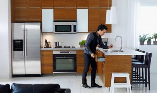 Kitchen Cabinet Refrigerator Opening