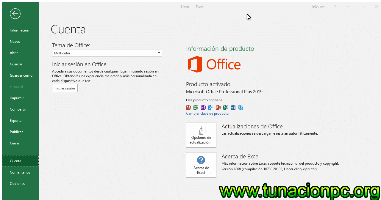 Office Professional Plus 2019 Gratis Español