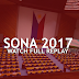 WATCH REPLAY: President Rodrigo Duterte's 2017 State of the Nation Address