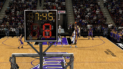 NBA 2K13 Kings Arena Mod & Shot-clock Patch