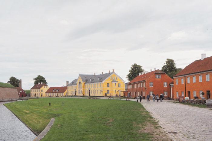 Château de Kronborg au Danemark