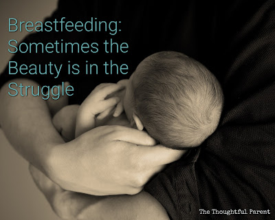 breastfeeding struggle beauty