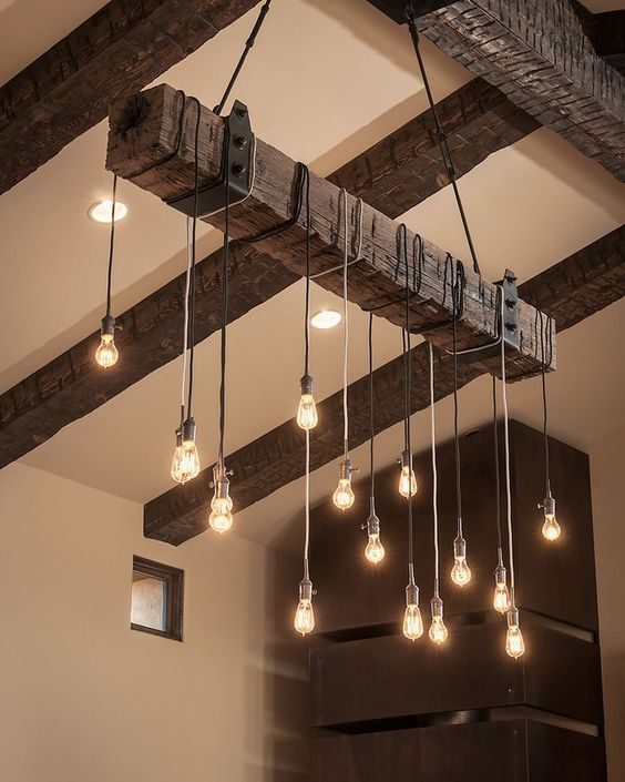 DIY φωτιστικό οροφής