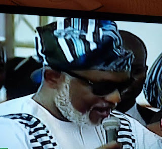 Akeredolu at Inauguration