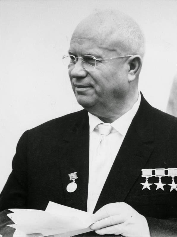 Il primo ministro Chruščёv