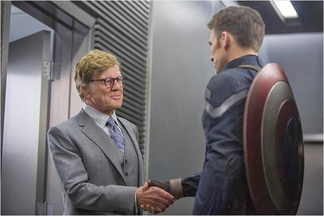 """Robert Redford en """"Capitán América: El Soldado de Invierno"""""""