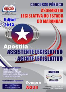 Apostilas concurso Assembléia Legislativa do Estado do Maranhão