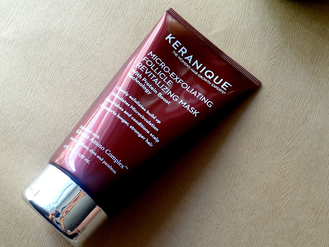 Keranique's Micro-Exfoliating Follicle Revitalizing Mask