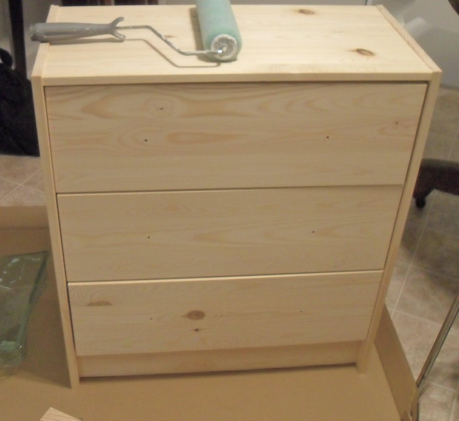 Ikea Hack - Rast 3 Drawer Chest