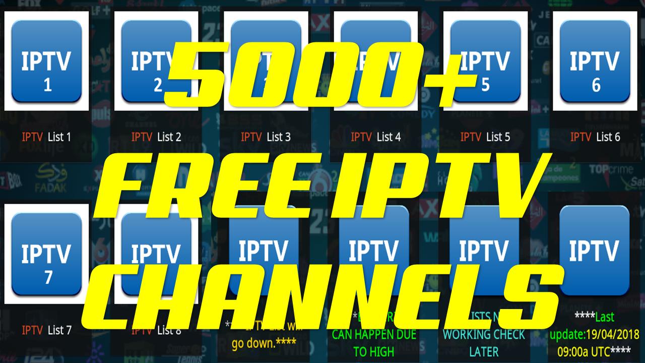 BEST LIVE TV ADDON FOR KODI 2018 - 5000+ FREE IPTV CHANNELS - USA