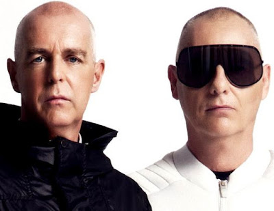 Rostros de integrantes de Pet Shop Boys