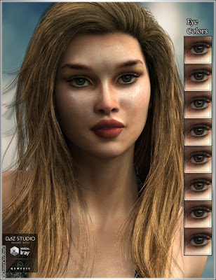 EJ Aura And Air Goddess For Genesis 3 Female
