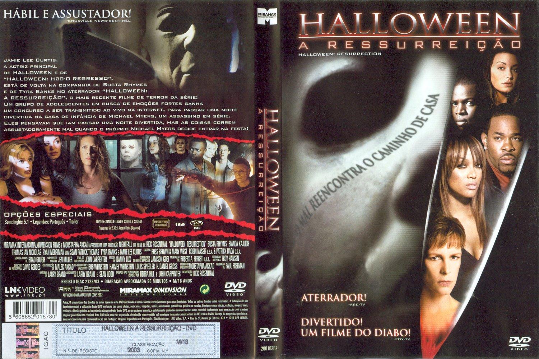 Smuk The Horrors of Halloween: HALLOWEEN RESURRECTION (2002) VHS, DVD XN-64