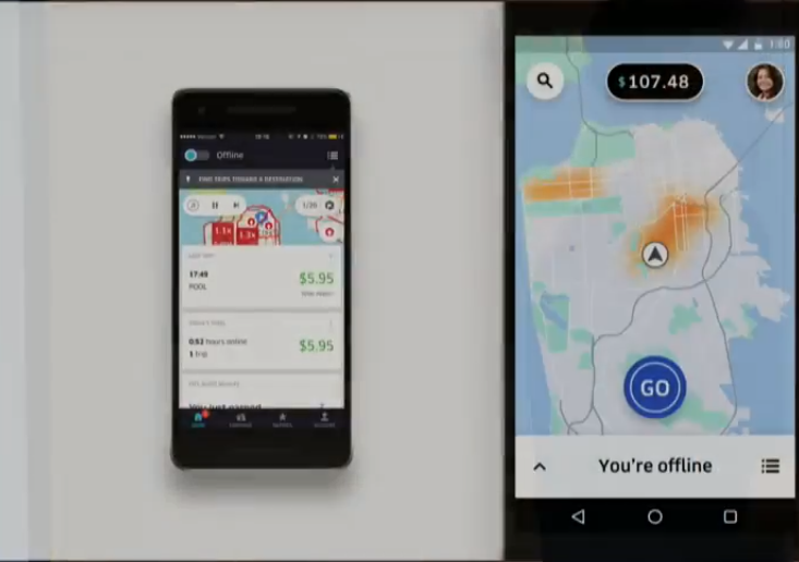SteveMann's Path: Uber Announces Improved Driver Experience with New App