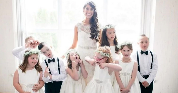 Special Ed Teacher Asks Entire Class To Be In Her Wedding Party