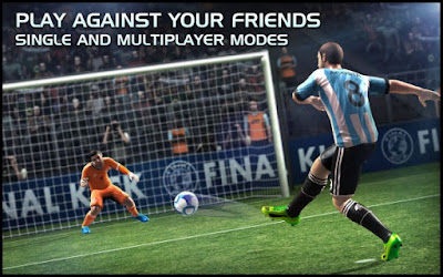 Final Kick: Online Football MOD APK v5.5 (Unlimited Money/Vip/Ads-Free)