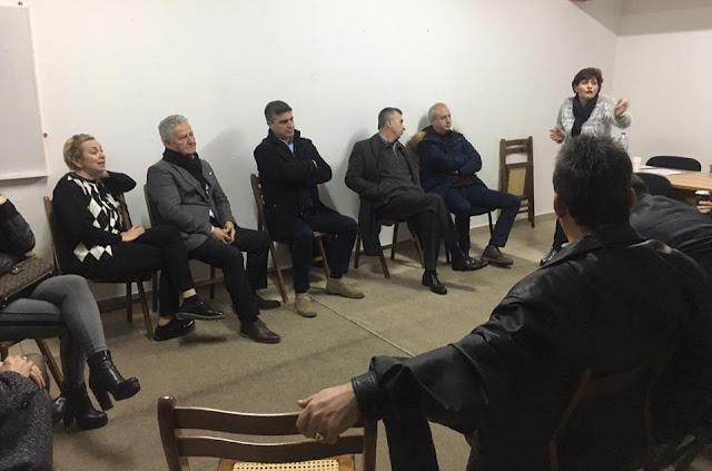 Επανεξελέγη ομόφωνα πρόεδρος του Κ.Π. Αριάδνη η Αλέκα Κοτσώνη