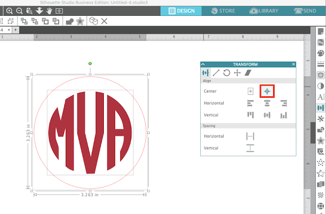 Silhouette Studio, align tool, Silhouette Studio Software tutorials, Silhouette Design Studio tutorials, silhouette tutorial
