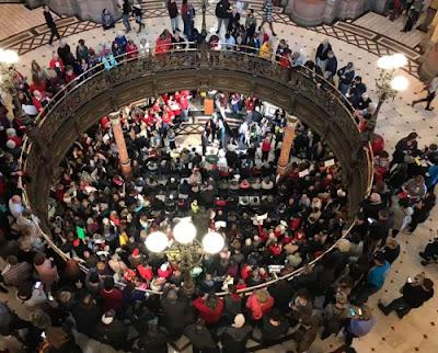 Pro-lifers overflow Springfield's Capitol Rotunda