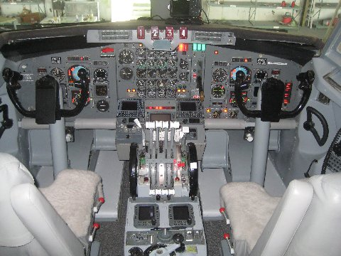 Jet Airlines: Boeing 7...F 22 Cockpit Wallpaper