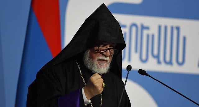 Catholicos: Armenia es el hogar de todos los armenios