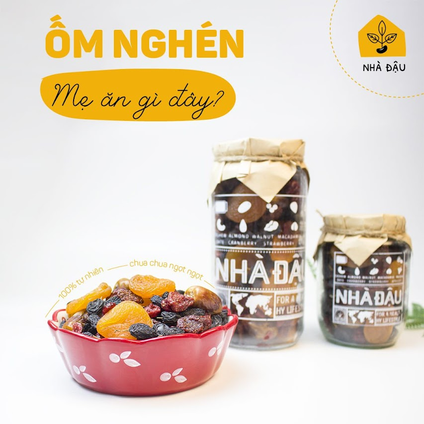 [A36] Cải thiện dinh dưỡng cho Mẹ Bầu nhờ những loại hạt sau