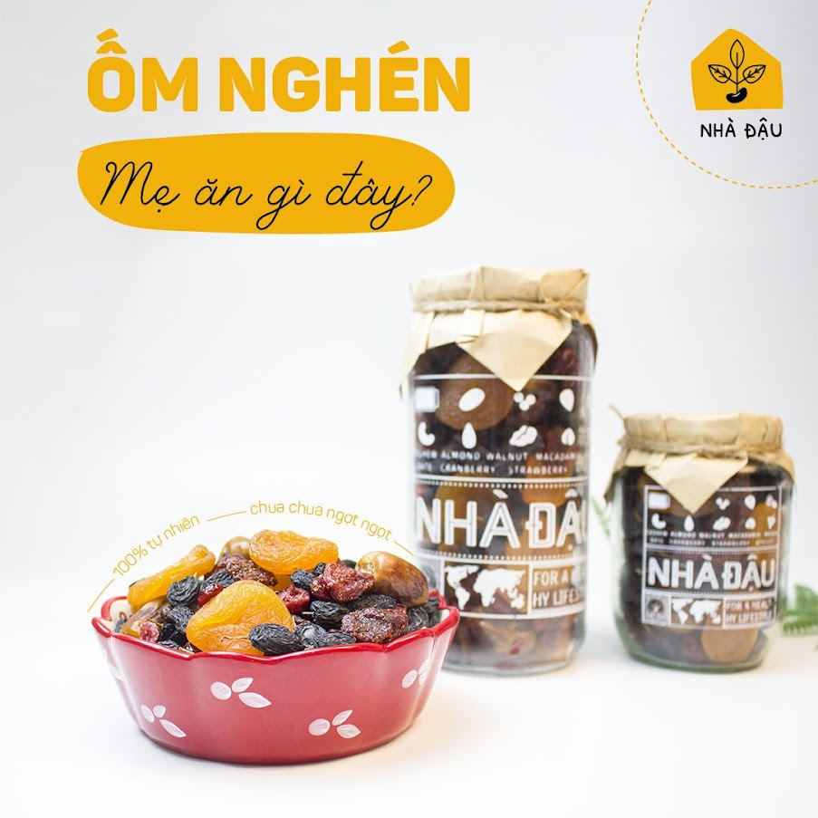 [A36] Quy tắc vàng giúp Mẹ Bầu ăn vặt đủ chất mà không tăng cân