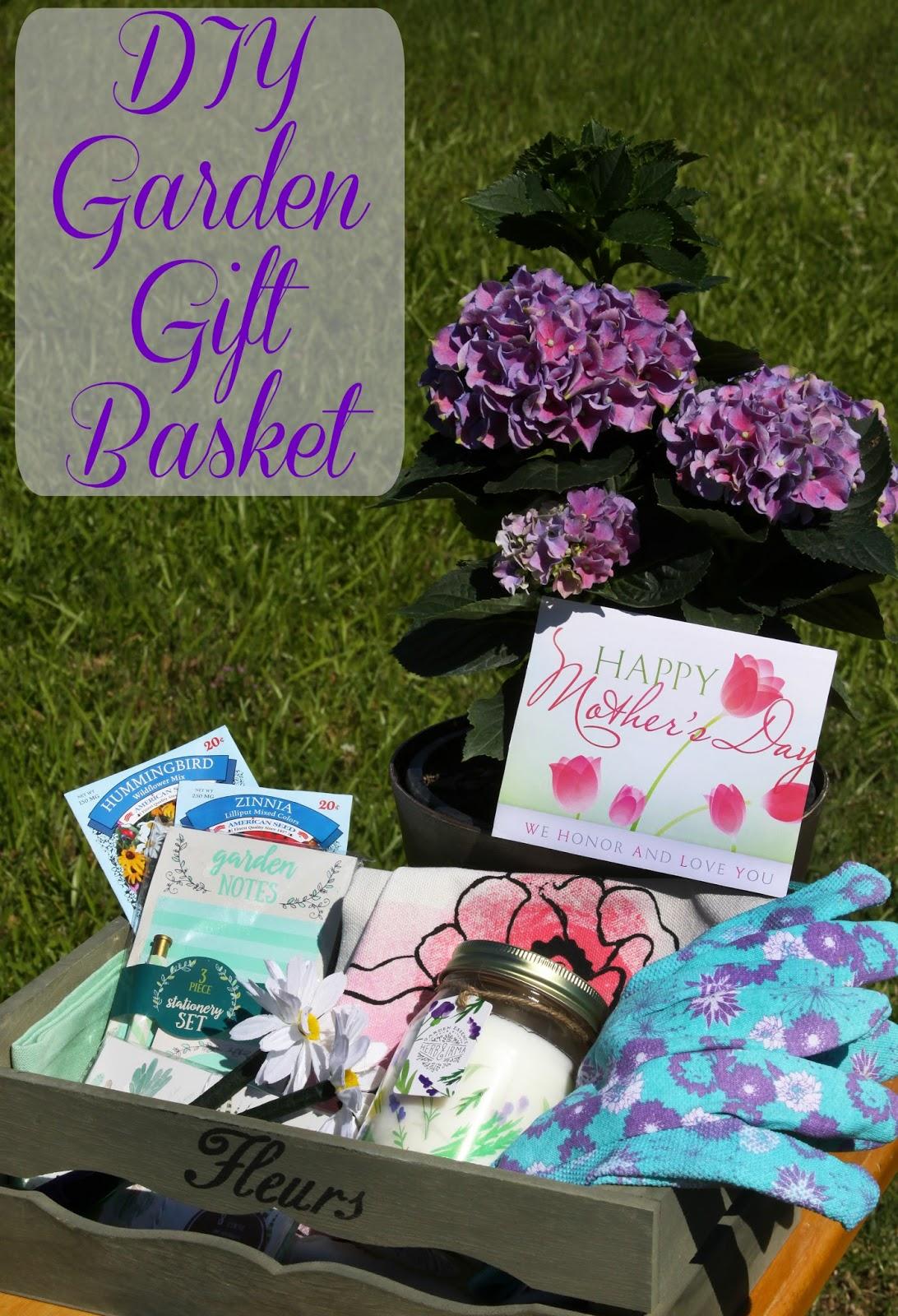 for the love of food diy garden essential oils gift baskets for mother 39 s day with dreftspring. Black Bedroom Furniture Sets. Home Design Ideas