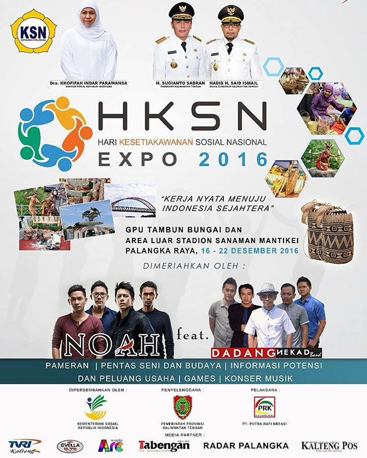 Hari Kesetiakawanan Sosial Nasional Expo, Desember 2016 Palangka Raya
