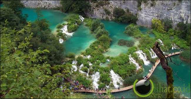 Jalan Kecil Danau-Danau Plitvice, Kroasia