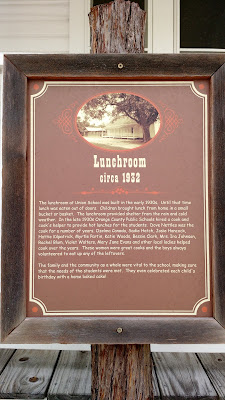 fort christmas lunchroom museum plaque