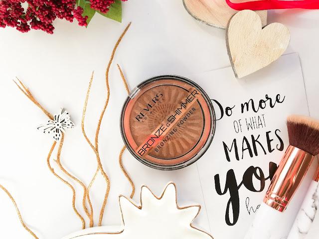 Puder brązująco – rozświetlający BRONZE & SHIMMER  | Revers Cosmetics