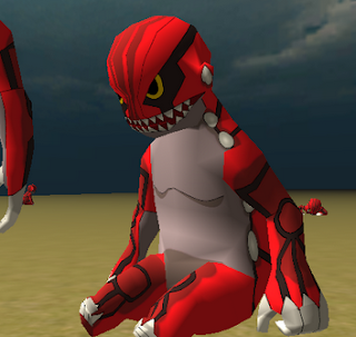 Groudon Pokemon Titan Skin AOTTG - Fantastic Titan, Attack On Titan Tribute Game