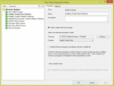 Windows Updates during SCCM OSD from Replica WSUS Servers 5